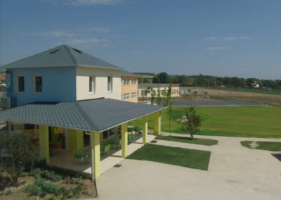 3. Top view of the Primary school